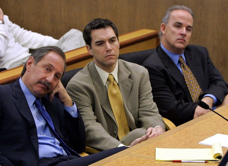 Scott Peterson in Court