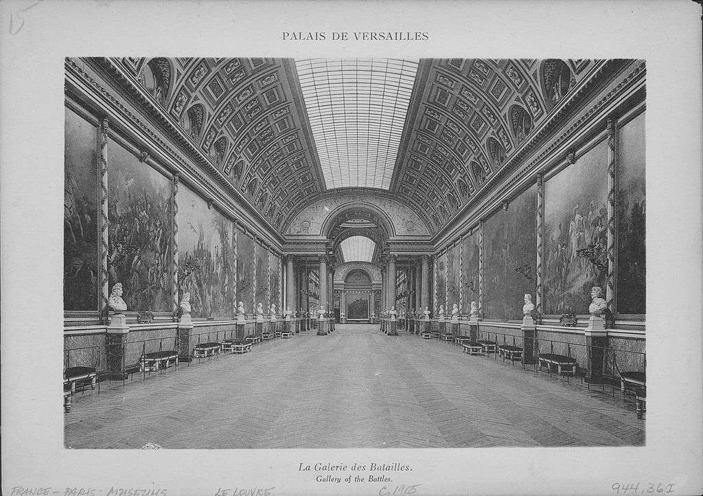 Gallery of Great Battles, Versailles
