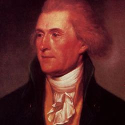 Thomas Jefferson by Charles Wilson Peale, 1791.