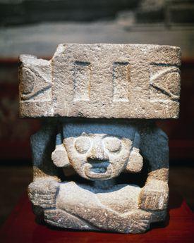 A Statuette of Huehueteotl