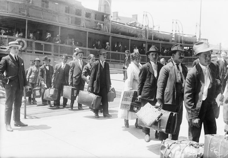 Immigrants Arriving in United States
