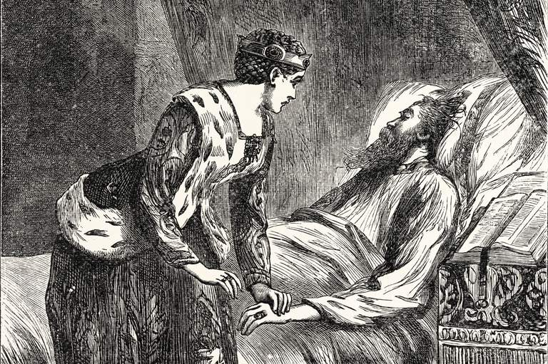 Alice Perrers At The Deathbed Of Edward III