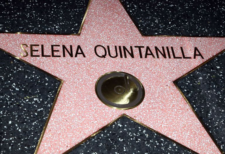 Selena's Walk of Fame star
