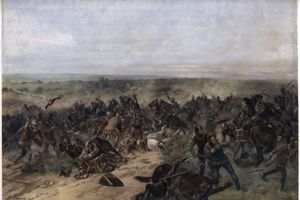 Battle of Crécy, 26th August 1346.