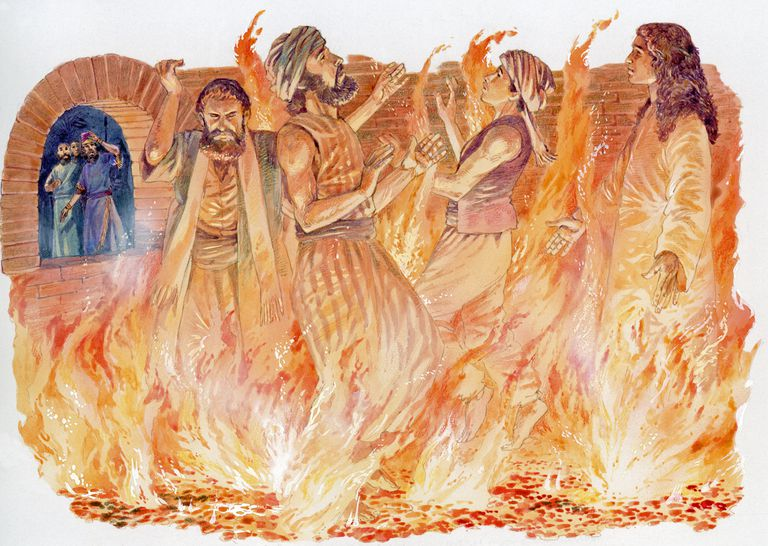 Shadrach, Meshach, and Abednego