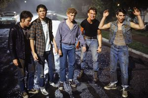 On the set of The Outsiders