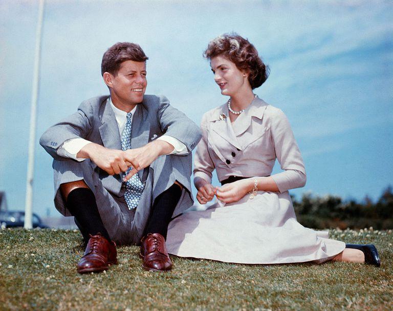 John F. Kennedy and Jacqueline Bouvier