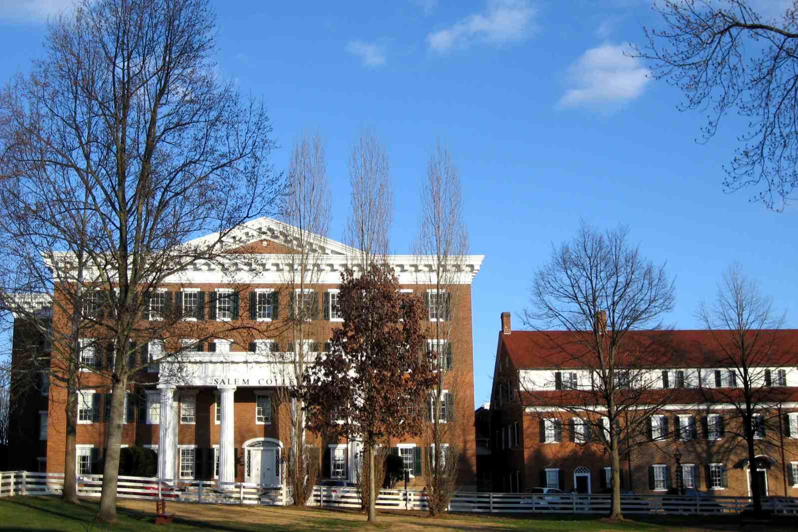 The campus at Salem College