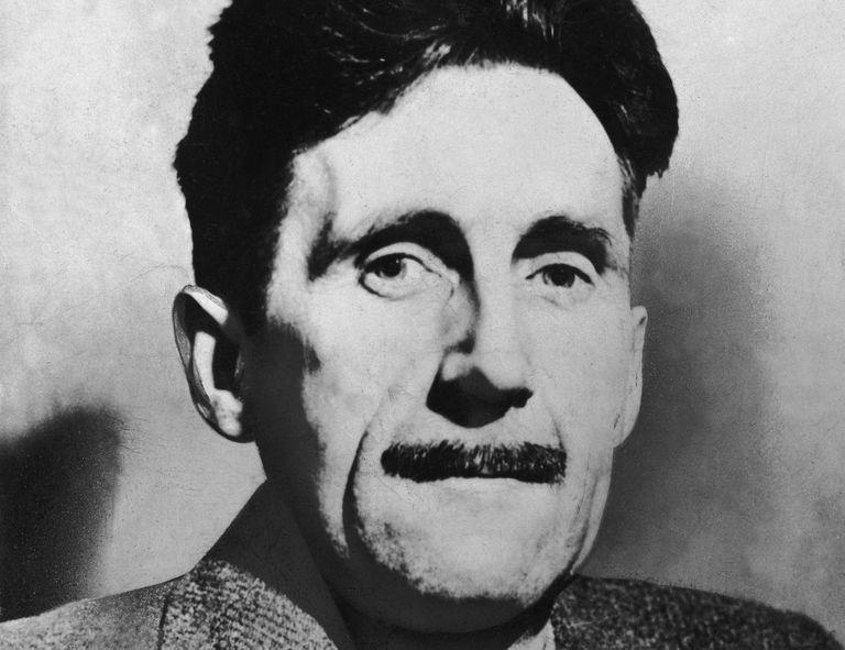 George Orwell, circa 1945.