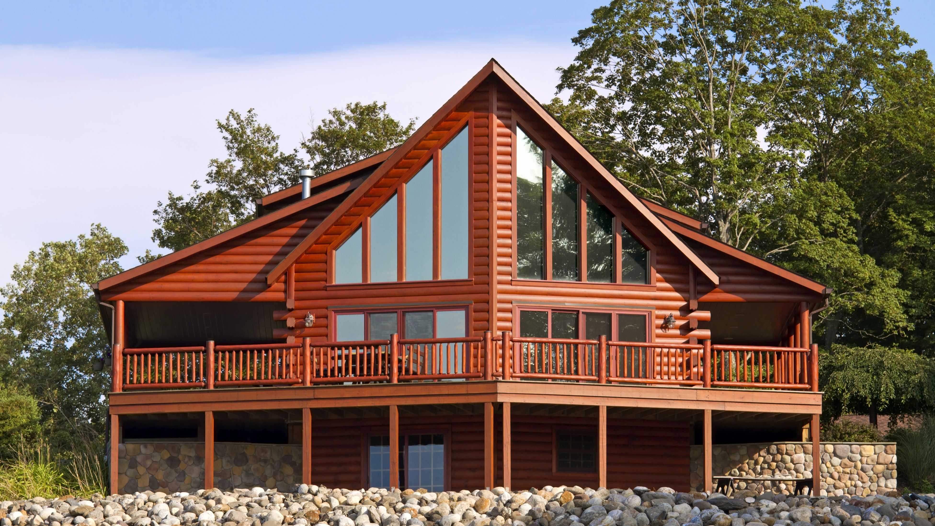 Pioneer Log Homes France the architecture of the log cabin