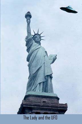 Statue of Liberty UFO