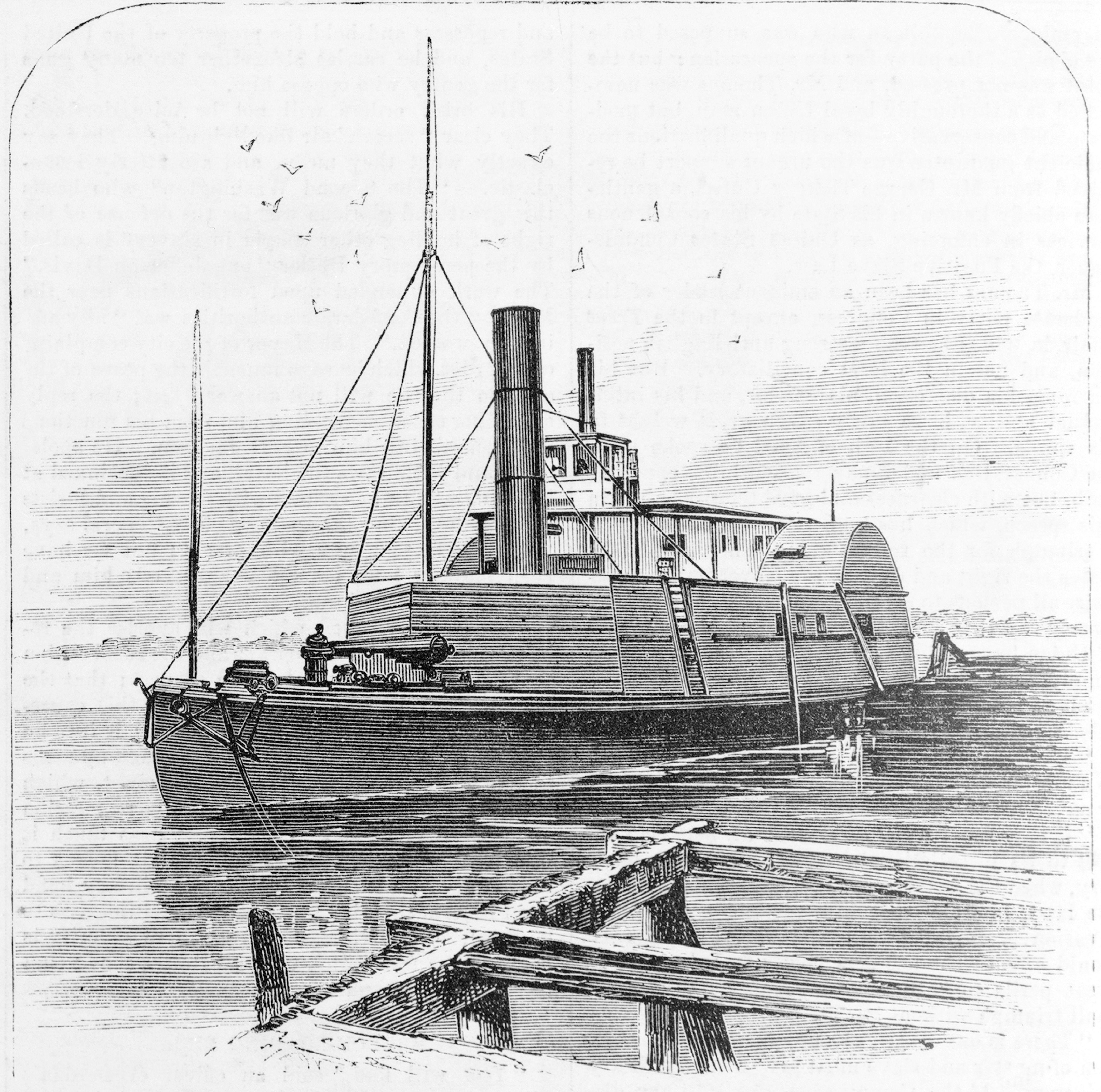 The Gunboat Planter
