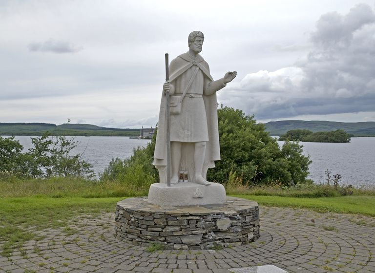 Statue of St Patrick, Lough Derg, County Donegal, Ireland