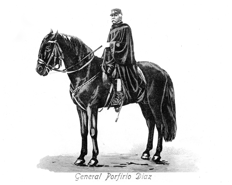 General Porfirio Diaz (1830-1915), President of Mexico, c1900s.