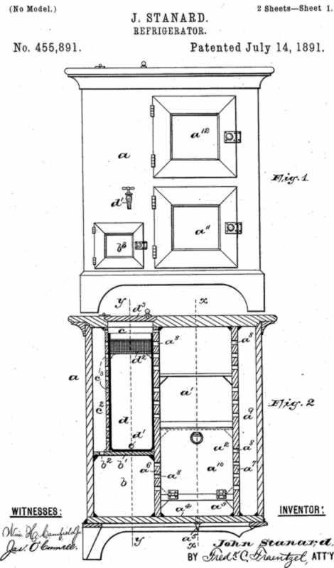 John Standard's refrigerator design