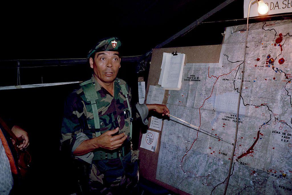 General Garcia On Radio
