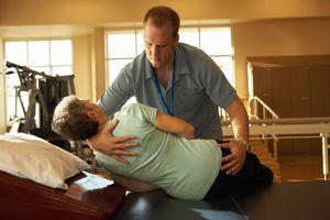 Rehabilitation and recovery hospital staff