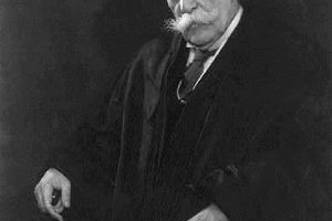 Chief Justice Oliver Wendell Holmes
