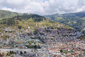 Quito from El Panecillo