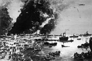 The evacuation of Dunkirk