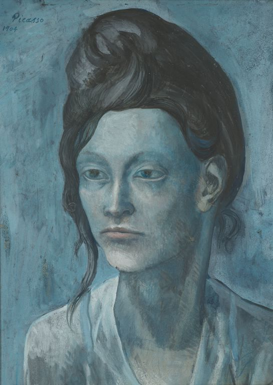 Woman with a Helmet of Hair by Pablo Picasso