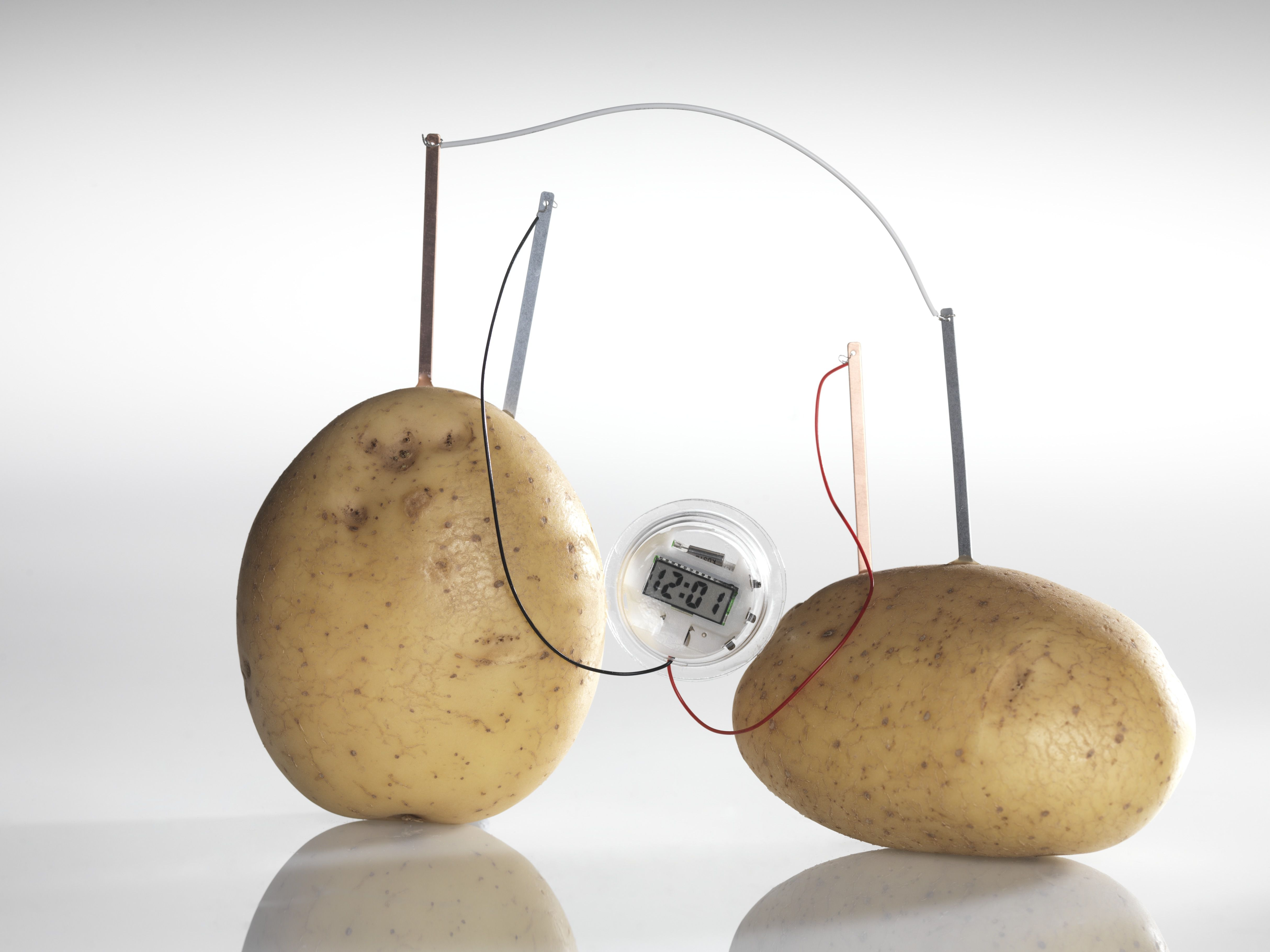 Potato Clock Diagram Battery How To Make A Power An Led 4855x3641