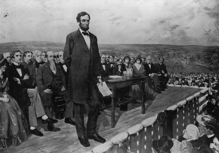 Image result for the gettysburg address image