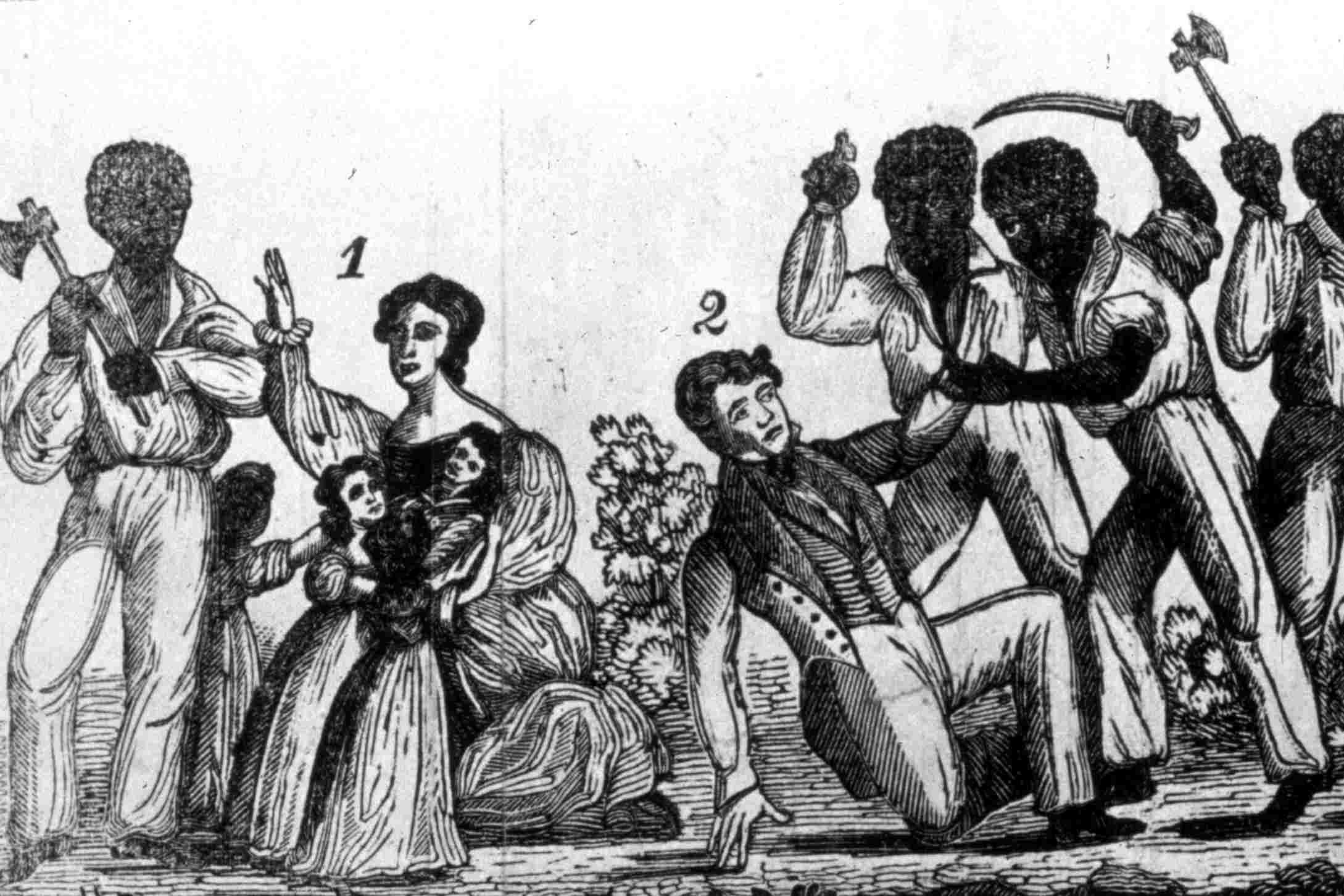 Nat Turner's Rebellion, a violent display of slaves resisting the brutality of the inhumane American slave system