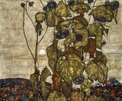 Egon Schiele, Autumn Sun, 1914.