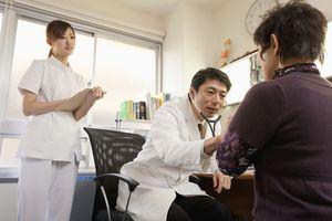 Senior Woman Seeing Doctor
