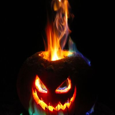 Light Up With A Flamethrower Jack O Lantern