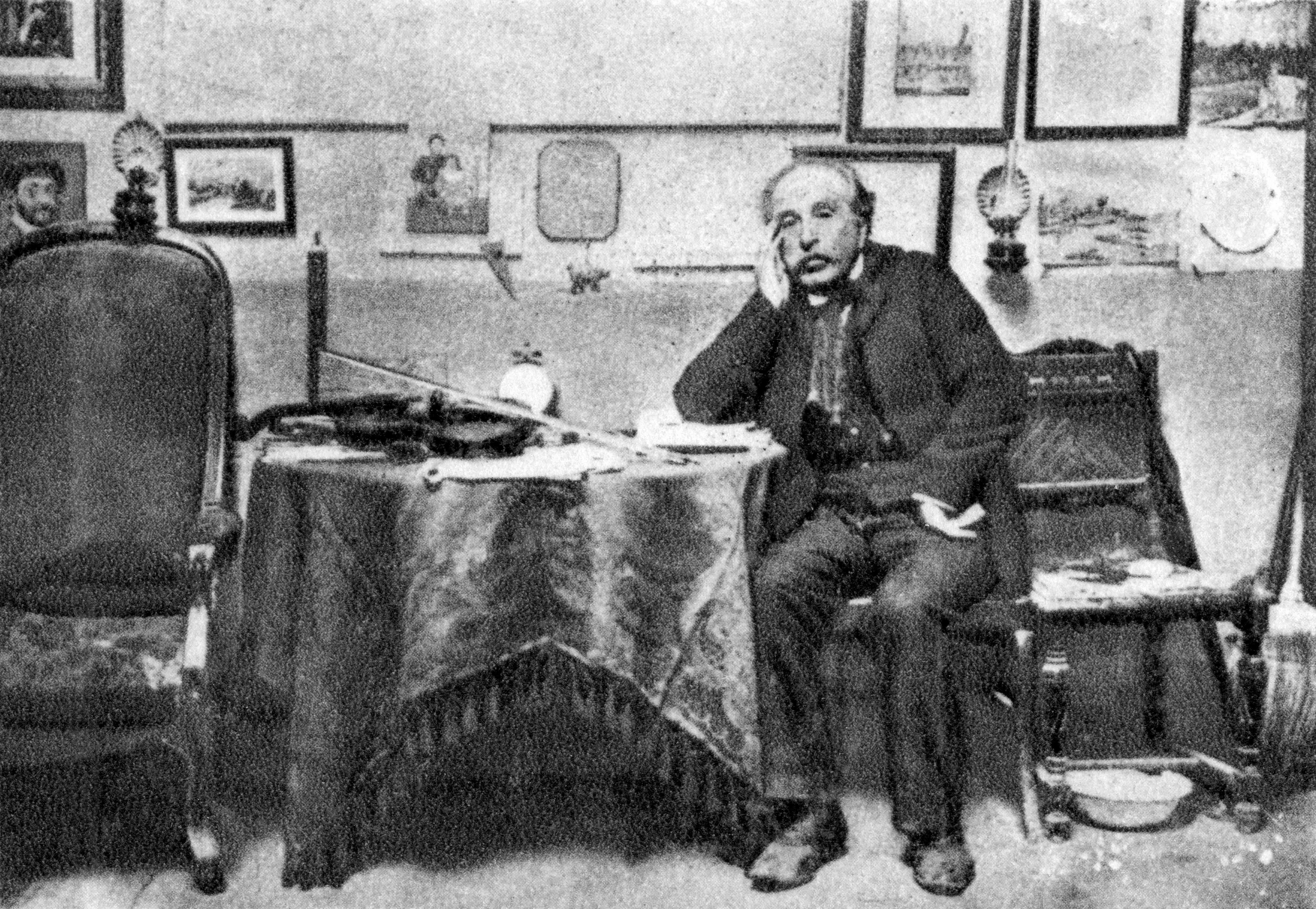 Henri Rousseau, French Post-Impressionist painter, 1902