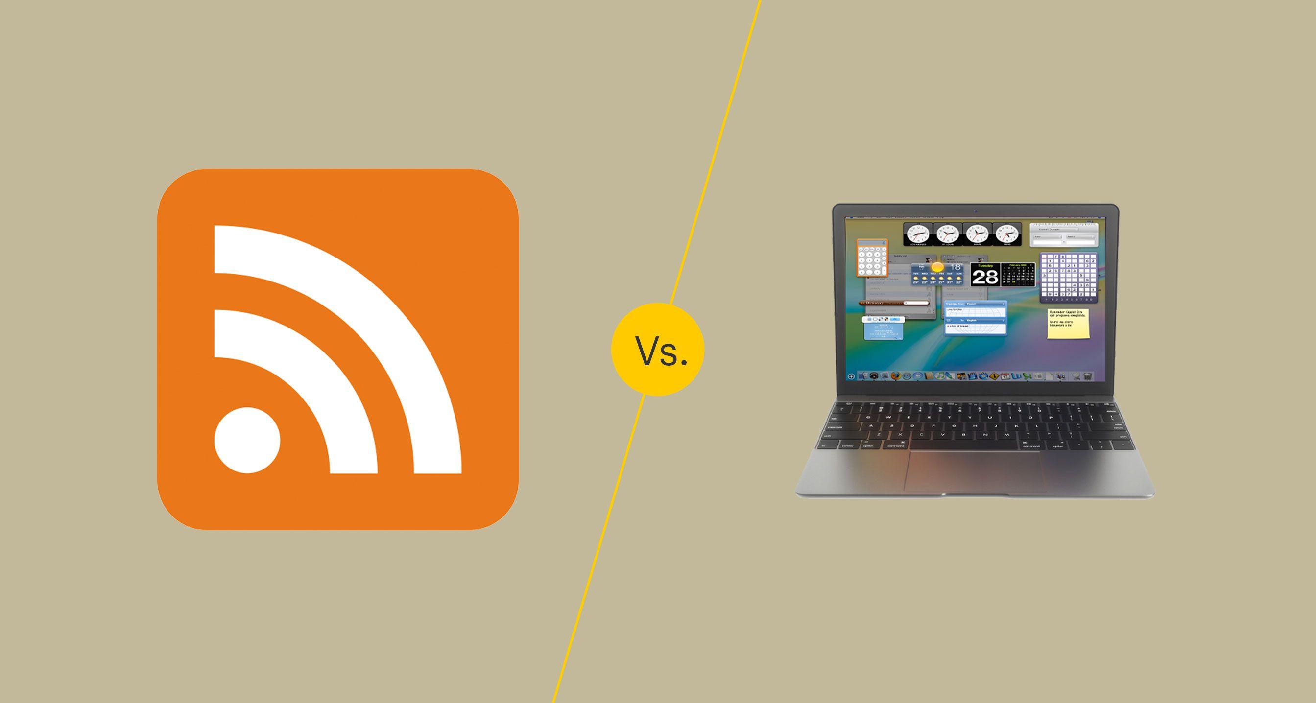 Widgets vs Gadgets