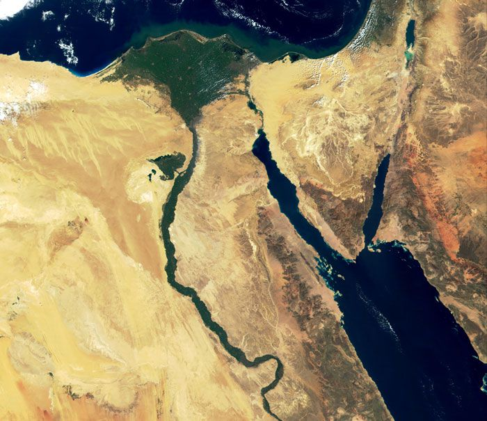 The Sinai Peninsula From Ancient Times to Today