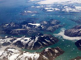 Margin of Melting Glacier, Greenland
