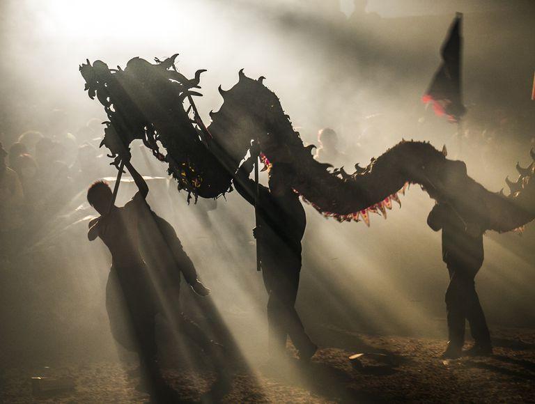 Dragon Bombing Festival