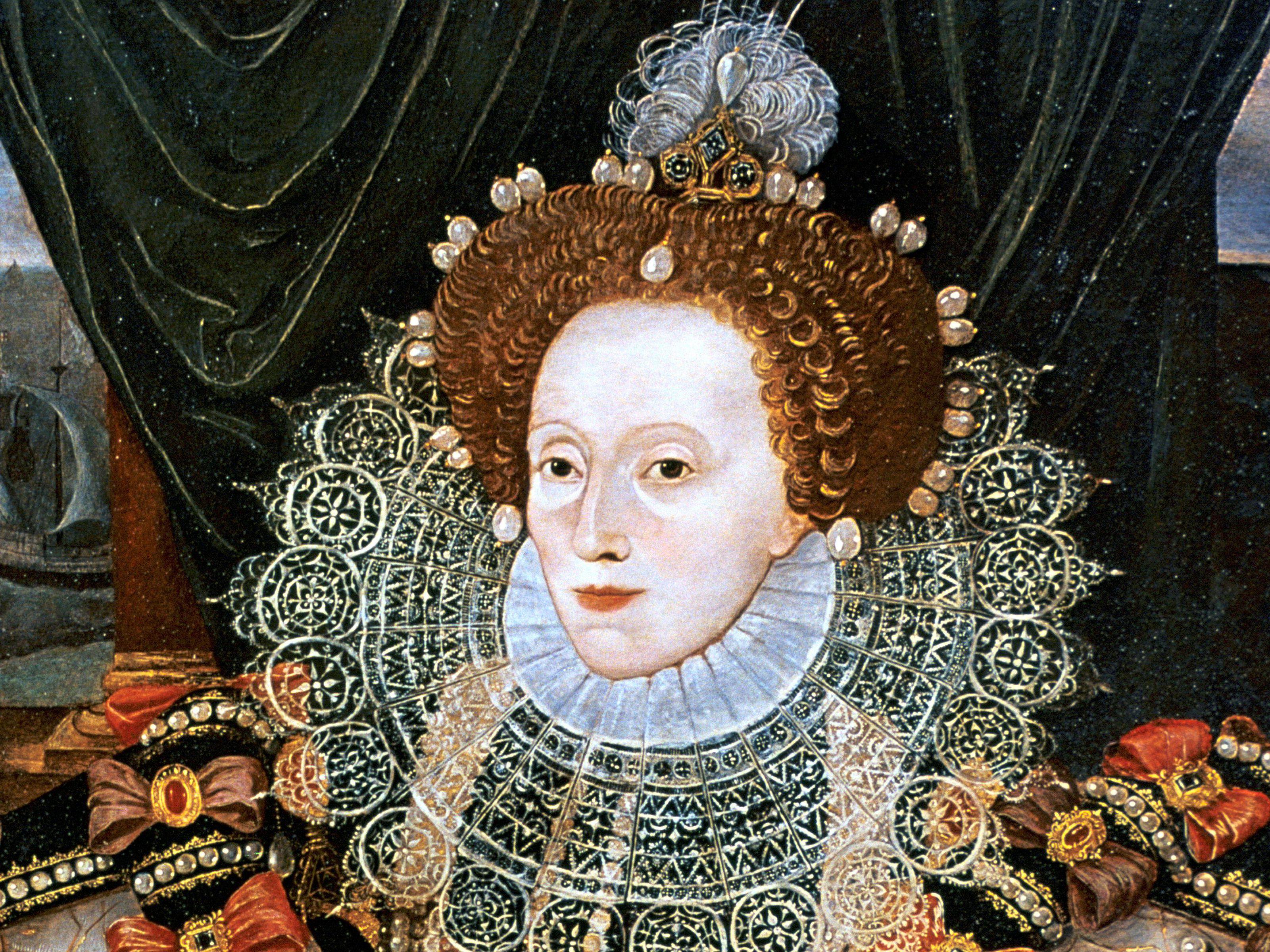Queen Elizabeth I Tudor Women/'s English Monarch British Royalty Renassiance