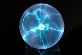 spherical plasma lamp