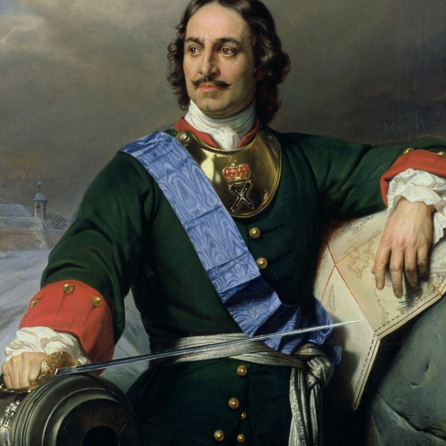 Portrait of Peter the Great, Paul Delaroche
