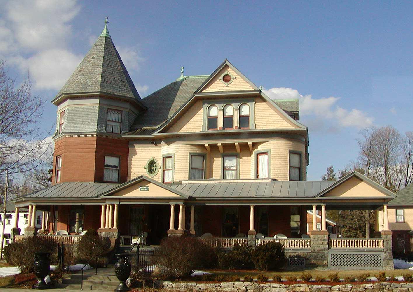 Queen Anne maison à Saratoga, New York
