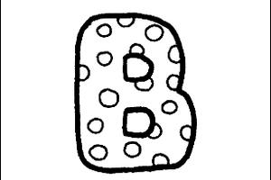 Letter B cover