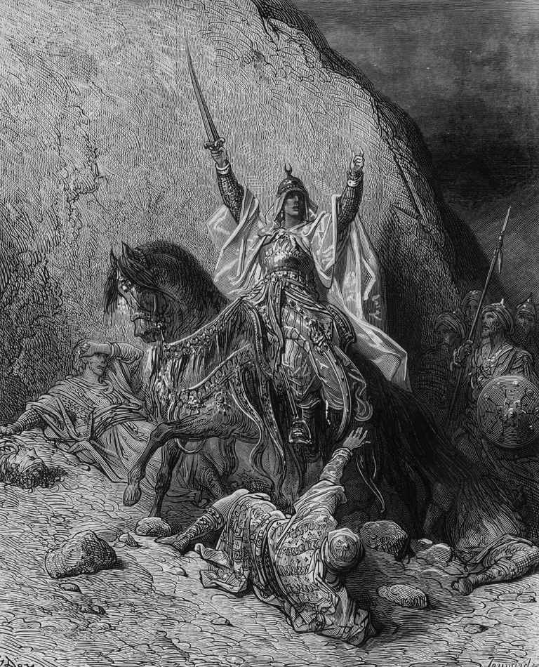 Saladin, hero of Islam and liberator of Jerusalem from the Franks