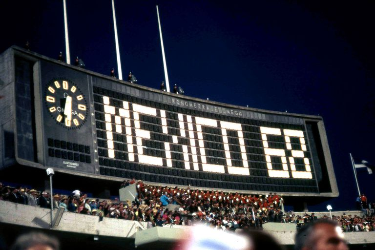 Mexico City 1968 summer olympic games