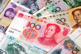 Renminbi currency in China