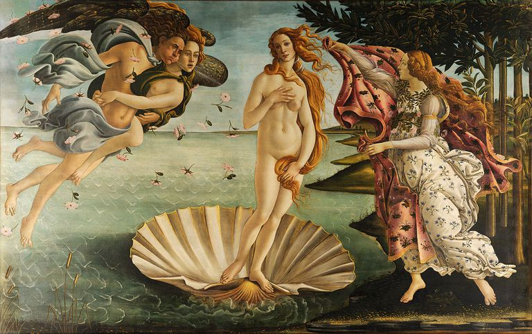 The Birth of Venus by Sandro Botticelli