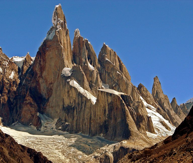 Cerro Torre is one of the world's most storied peaks for rock climbing and mountaineering.