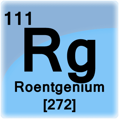 Roentgenium Facts Rg Or Element 111