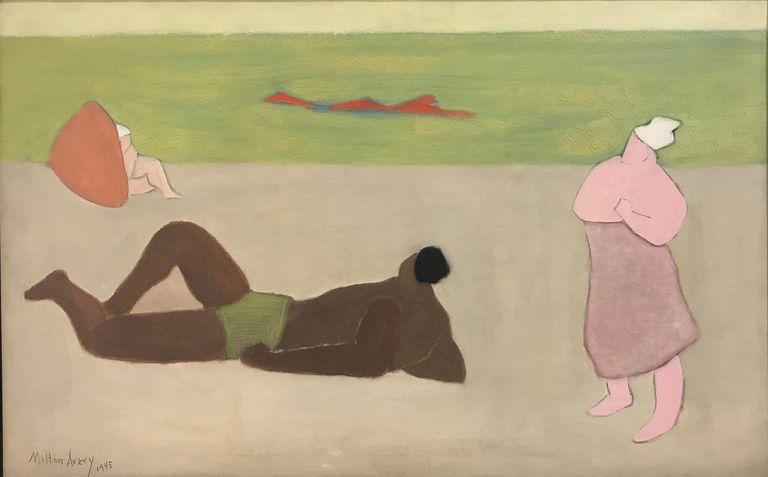 milton avery seaside