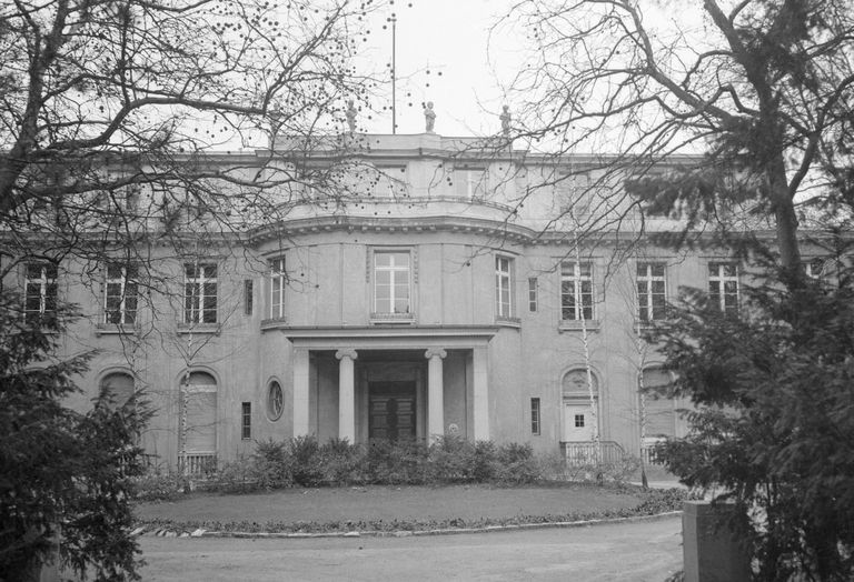 Villa at Wansee where Nazi officials met