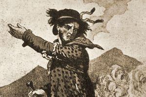 Depicition of mythical Luddite leader